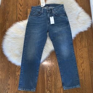 Levi's made and crafted slim crop size 26 NWT